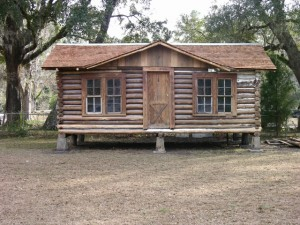 About the Sopchoppy Preservation and Improvement Association - Finished Log Cabin