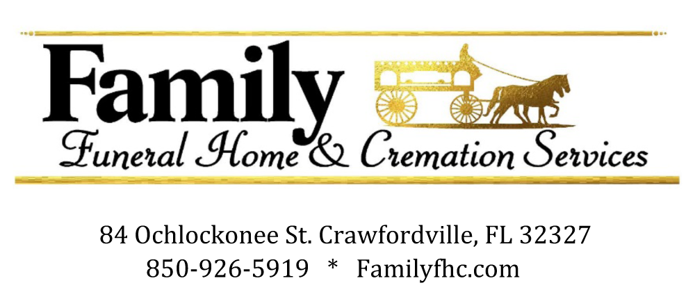 Sopchoppy Worm Gruntin' Festival 5K Sponsor - Family Funeral Home