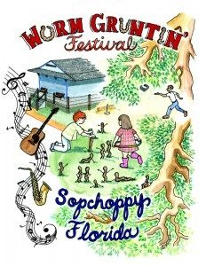 17th Annual Sopchoppy Worm Gruntin' Festival logo