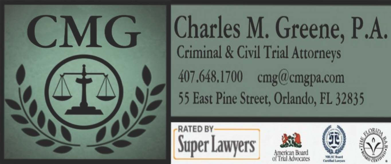 Sopchoppy Worm Gruntin' Festival 5K Sponsor - Charles M. Greene, P.A. Criminal and Civil Trail Attorneys
