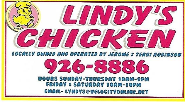 Sopchoppy Worm Gruntin' Festival 5K Sponsor - Lindy's Chicken