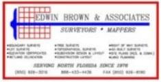 Sopchoppy Worm Gruntin' Festival 5K Sponsor - Edwin Brown & Associates